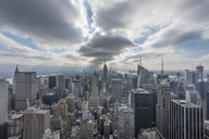 USA, New York City, Manhattan, cityscape as seen from Top of the Rock observation platform - RPSF00141