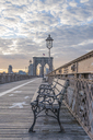 USA, New York City, Brooklyn Bridge - RPSF00147