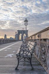 USA, New York City, Brooklyn Bridge - RPSF00147