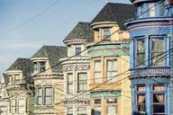 USA, California, San Francisco, row of houses - WVF00884