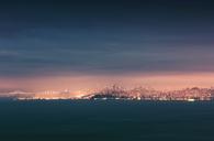 USA, California, San Francisco, skyline - WVF00887