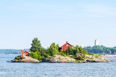 Finland, Helsinki, small island - CSTF01565
