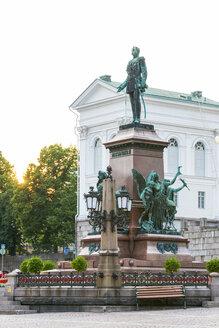 Finland, Helsinki, Monument of Alexander II - CSTF01574