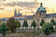 Czech Republic, Prague, Straka academy, castle - CSTF01597