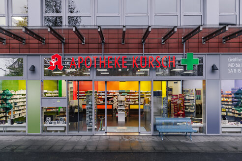 Exterior of a pharmacy - MFF04366
