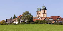 Germany, Baden-Wurttemberg, Black Forest, St. Maergen abbey church - WDF04254