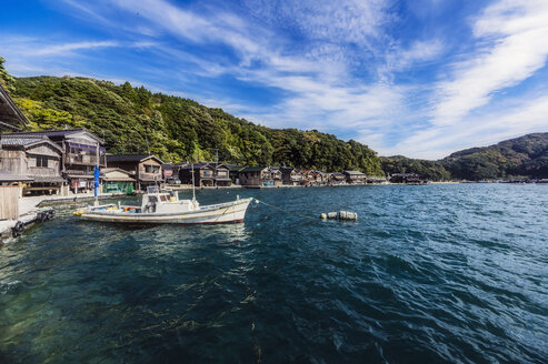 Japan, Kyoto Prefecture, fishing village Ine, townscape - THAF02083
