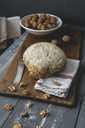 Home-baked rye spelt bread with walnuts - ODF01581