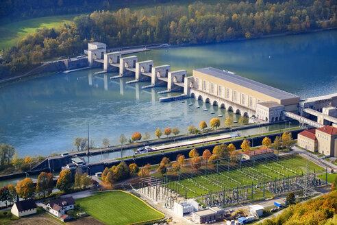 Germany, Bavaria, Jochenstein hydro plant - SIEF07666