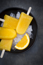 Homemade orange popsicles - LVF06603