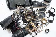 E-waste of an old camera - NDF00733