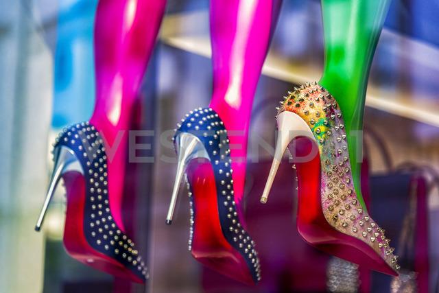 High Heels in window display - CSTF01620