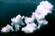 Spain, cloud formation, aerial view - WVF00900