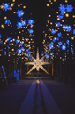Germany, Berlin, Christmas decoration, Moravian star - ASCF00764