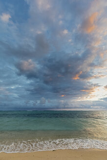 Mauritius, Southwest Coast, Indian Ocean, beach of Le Morne - FOF09759