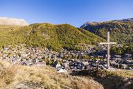 Switzerland, Valais, Zermatt, townscape - WDF04322