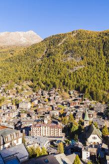 Switzerland, Valais, Zermatt, townscape - WDF04325