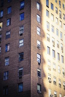 USA, New York City, Manhattan, facade of house - CMF00774