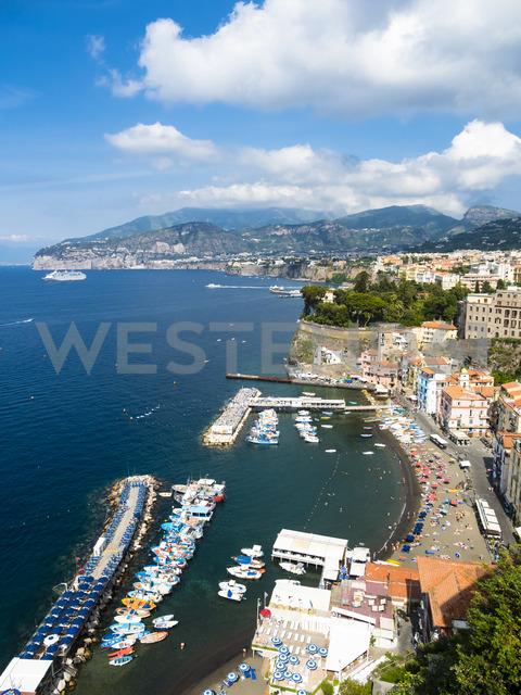 Italy, Campania, Amalfi Coast, Sorrent, Bleu Village, Marina Piccola - AMF05605