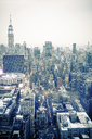 USA, New York City, Manhattan in the evening - CMF00784