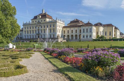Germany, Baden-Wuerttemberg, Ludwigsburg, Ludwigsburg Palace - PVCF01253