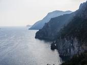 Italy, Campania, Gulf of Salerno, Sorrent, Amalfi Coast, Positano, cliff coast, Tordigliano Belvedere - AMF05611