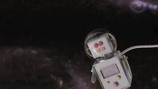 Robot in the universe, 3d rendering - UWF01365