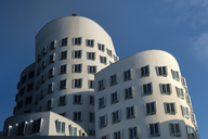 Germany, Duesseldorf, New Zollhof, facades of the Gehry Houses - FR00625