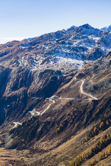 Switzerland, Valais, Alps, view to Grimsel Pass - WDF04370