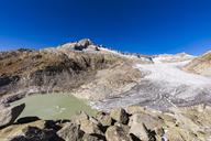 Switzerland, Valais, Alps, Rhone Glacier - WDF04373