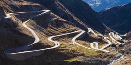 Switzerland, Valais, Alps, Gotthard pass - WDF04385