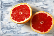 Sliced red grapefruit - JTF00892