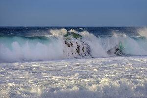 Spain, La Gomera, Atlantic Ocean, wave - SIEF07704