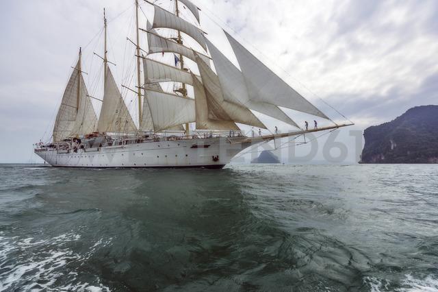 Thailand, Andaman Sea, sailing ship - THAF02145 - Thomas Haupt/Westend61