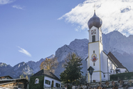 Germany, Bavaria, Garmisch-Partenkirchen, Grainau, Parish church St John the Baptist - PVCF01289
