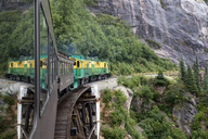 USA, Alaska, Skagway, White Pass and Yukon Route, Railroad - MMA00248