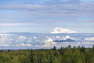 USA, Alaska, Talkeetna, View to summit of Mount Denali - MMAF00272