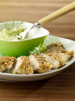 Chicken breast, hazelnut coconut breading - SRSF00625