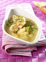 Chickpea soup with cocos fish, low carb - SRSF00637