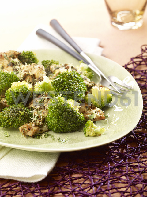 Lemon chicken with broccoli, low carb - SRSF00640