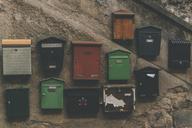 Spain, Osor, mailboxes - SKCF00329