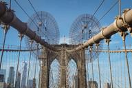 USA, New York City,  Brooklyn Bridge - SEEF00008