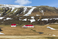 Iceland, Vik, Houses in the countryside - WPEF00111