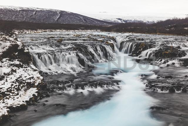 Iceland, Bruarfoss waterfall, view of the waterfall - WPEF00117
