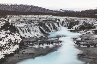 Iceland, Bruarfoss waterfall, view of the waterfall - WPEF00117