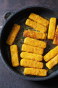 Fish fingers in frying pan - CSF28910