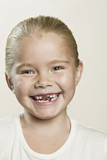 A laughing young girl - FSIF00541