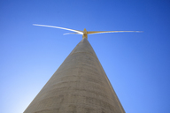 Low angle view of a wind turbine - ZEF14960