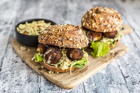 Falafel Burger with Tabbouleh - SARF03570