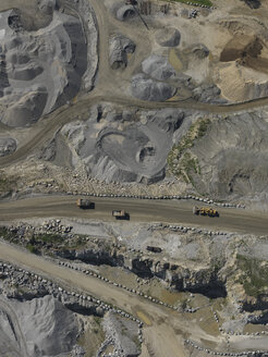 Full frame shot of open-pit mine - FSIF01314